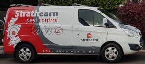 Strathearn Pest Control van